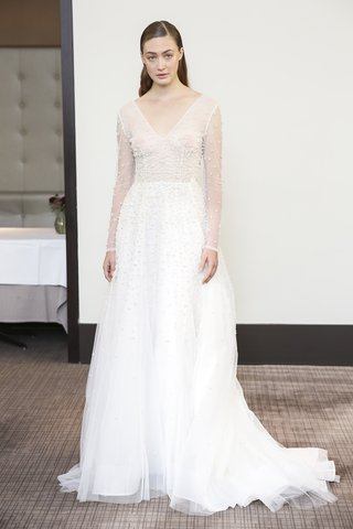 gracy-accad-fall-2018-net-with-pearls-and-crystals-long-sleeves-and-layered-skirt