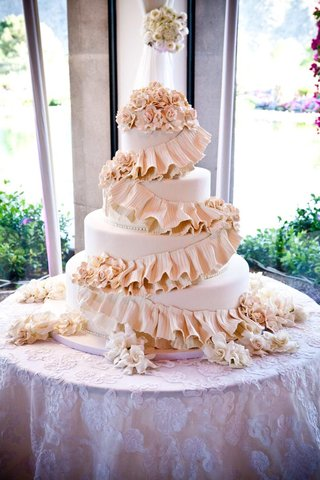 four-layer-wedding-cake-with-pink-sugar-flowers