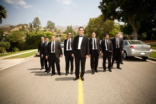 armenian-groom-and-friends-in-black-tuxedos