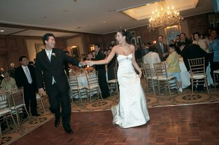 first-dance-of-bride-wearing-a-jenny-yoo-wedding-gown