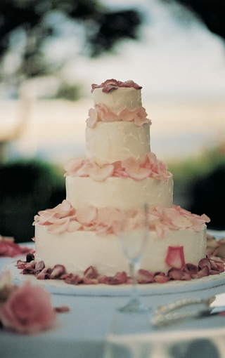 four-tiers-with-white-frosting-and-pink-petals