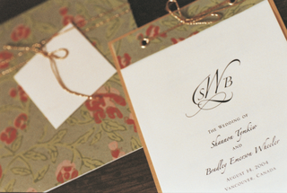 wedding-stationery-with-floral-motif-for-wedding-program