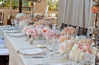 roses-and-garden-roses-in-mercury-glass-centerpieces