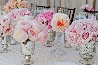 silver-vases-with-blush-roses-and-garden-roses