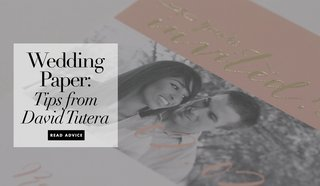 david-tutera-wedding-planning-tips-paper-ideas