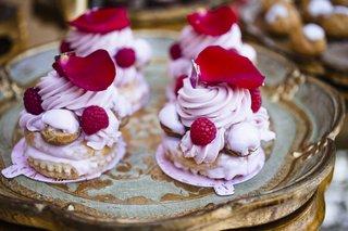 red-raspberry-and-fuchsia-petal-on-dessert-tart
