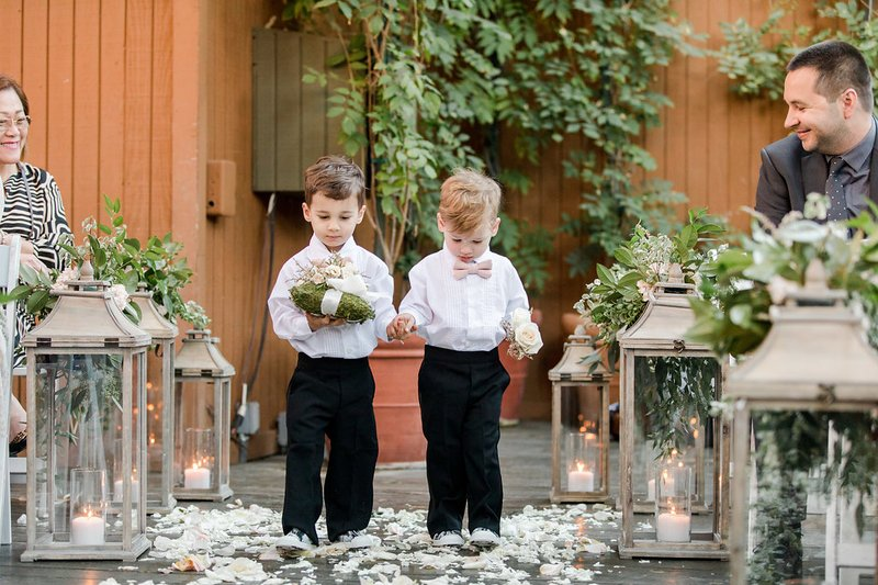 Adorable Pair of Ring Bearers