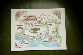 watercolor-painting-with-personalized-locations