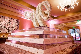 escort-card-table-w-in-blooms-calligraphy-place-cards-names-guests-classic-dallas-wedding-blush