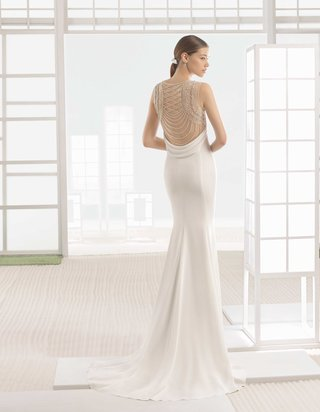 rosa-clara-bridal-warren-wedding-dress-crepe-column-gown-beaded-back-round-neckline