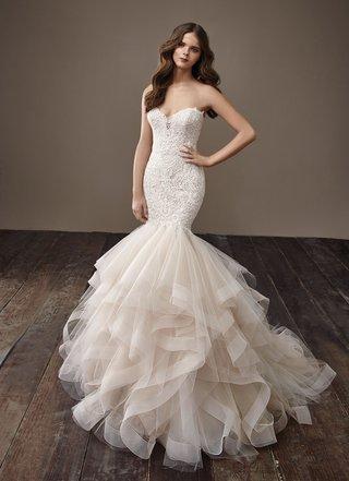 badgley-mischka-bride-2018-collection-wedding-dress-brianna-mermaid-horsehair-skirt-ruffle-strapless