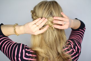 step-number-ten-of-knotted-updo-wedding-hairstyle-tutorial