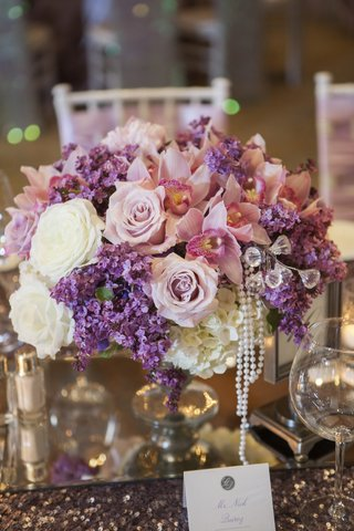 pink-and-purple-flowers-with-crystals-and-pearls