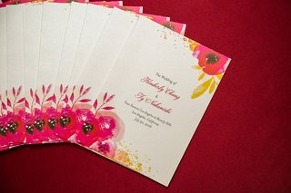 wedding-ceremony-program-watercolor-red-poppy-design