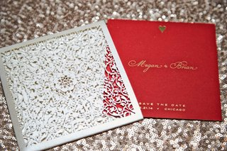 vibrant-red-save-the-date-invitations-silver-metallic-and-gold-calligraphy