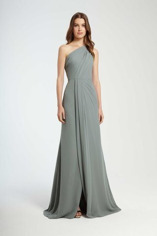 monique-lhuillier-bridesmaids-fall-2016-one-shoulder-blue-green-bridesmaid-dress