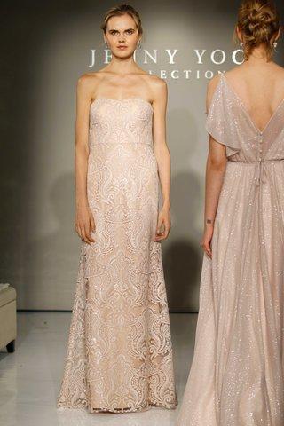 jenny-yoo-bridesmaids-2016-strapless-lace-long-bridesmaid-dress