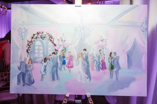 live-event-painting-of-dance-floor-at-wedding-reception