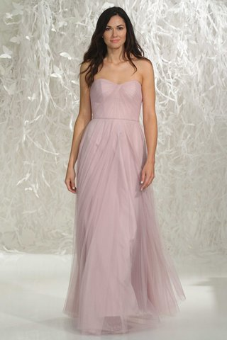 watters-bridesmaids-2016-strapless-long-pink-bridesmaid-dress-with-draped-bodice-and-skirt