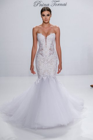 pnina-tornai-for-kleinfeld-2017-dimensions-collection-mermaid-wedding-dress-strapless-embroidery