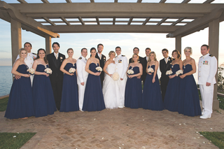 bride-and-navy-pilot-groom-with-bridesmaids-and-groomsmen