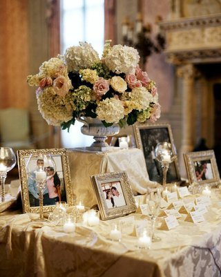seating-cards-on-table-with-photo-frames
