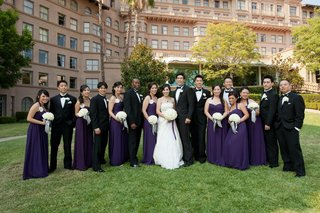 bridesmaids-and-groomsmen-at-langham-huntington