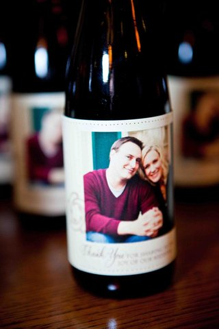portrait-of-couple-on-half-bottle-favors