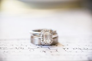 bride-and-groom-wedding-bands-and-engagement-ring