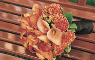 bouquet-of-orange-calla-lilies