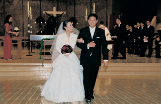 lea-salonga-wears-monique-lhuillier-dress-and-walks-with-groom-robert-chien