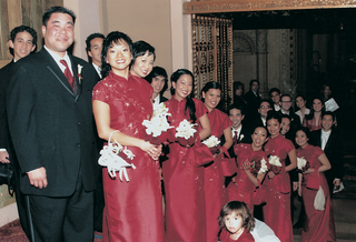 filipino-bridesmaid-gowns-in-red-with-matching-baskets