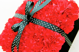 red-carnation-wedding-ring-pillow-with-polka-dot-ribbon