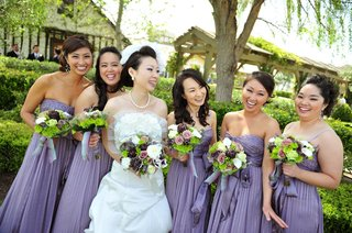 asian-american-bride-and-bridesmaids-at-vineyard-wedding