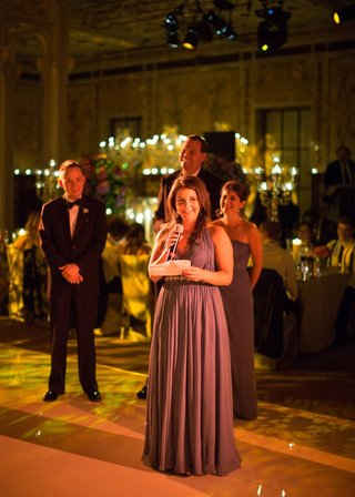 bridesmaids-and-groomsmen-giving-speeches