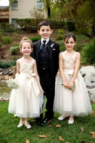 boy-in-three-piece-tuxedo-and-girls-in-dresses