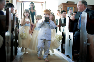 young-ring-bearer-wearing-casual-suit-and-flip-flops