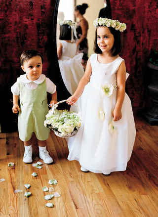 little-boy-and-girl-dressed-in-white-and-celadon