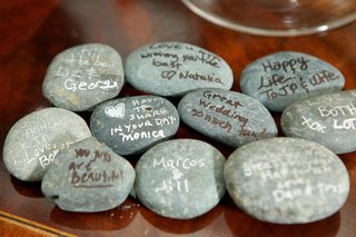 wedding-notes-from-guests-on-river-rock