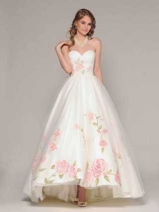 eugenia-couture-fall-2016-strapless-high-low-ball-gown-with-hand-painted-flower-print