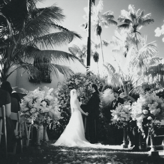 black-and-white-photo-of-tropical-ceremony