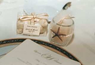 votive-candle-and-chocolates-wrapped-for-guests