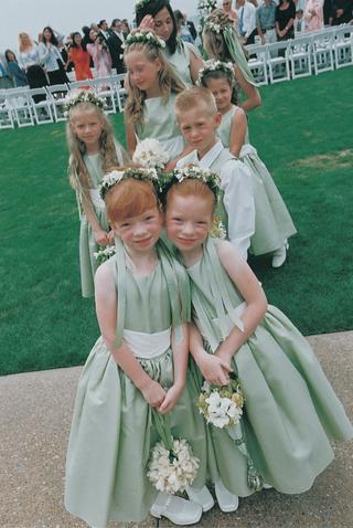 flower-girls-and-ring-bearer-in-light-green-dresses-and-vests