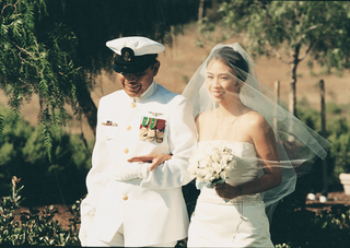 military-father-of-the-bride-walks-bride-down-the-aisle