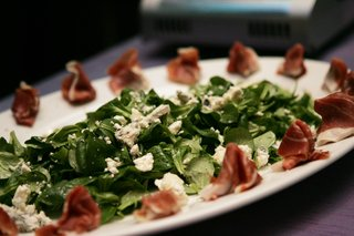 spinach-with-bleu-cheese-and-prosciutto-ham