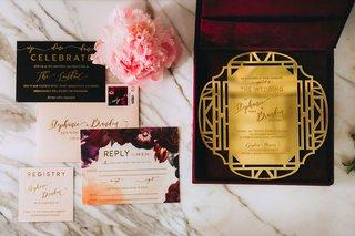 stephanie-perez-and-brandon-hampton-wedding-invitation-black-burgundy-maroon-fall-wedding-ideas