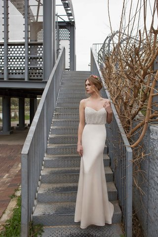 limor-rosen-2017-evelyn-wedding-dress-with-georgette-mermaid-skirt-with-blouson-top-urban-dreams