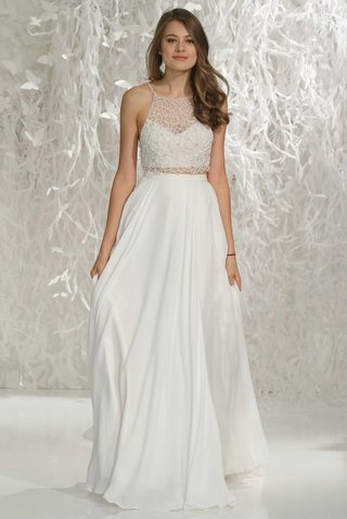 willowby-by-watters-2016-racer-back-beaded-crop-top-and-smooth-skirt-two-piece-wedding-dress