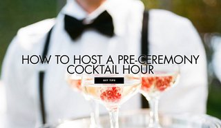 how-to-host-a-pre-ceremony-cocktail-hour-new-wedding-trends