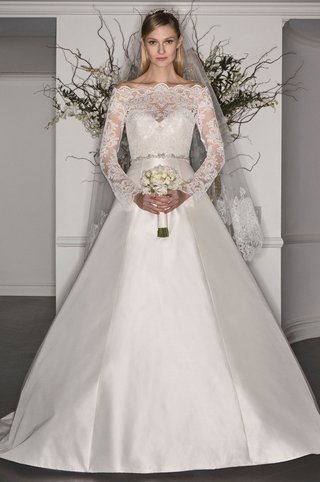 legends-romona-keveza-fall-2017-l7173-strapless-gown-damask-lace-bodice-a-line-silk-overblouse